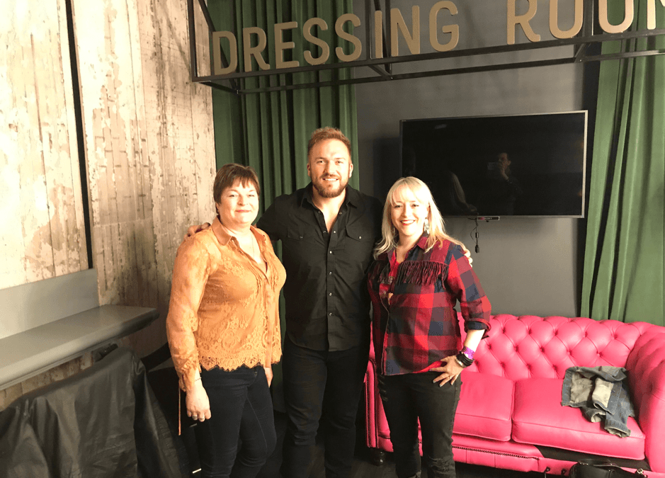 Logan Mize chats to Country Lowdown at Country 2 Country Festival in London