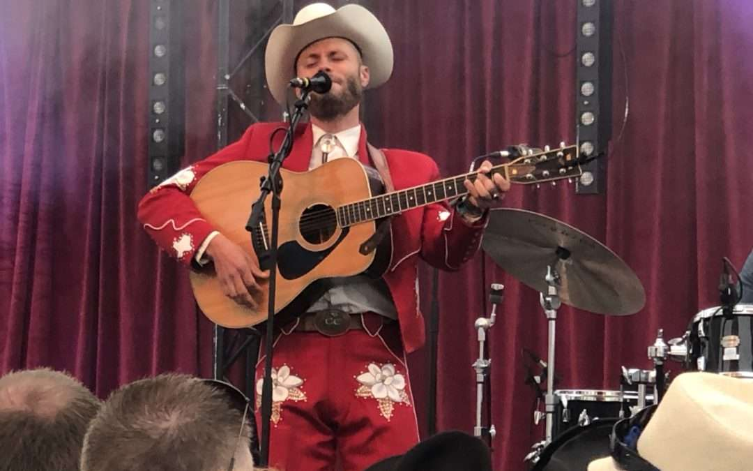 Interview with Charley Crockett at The Long Road Festival 2019