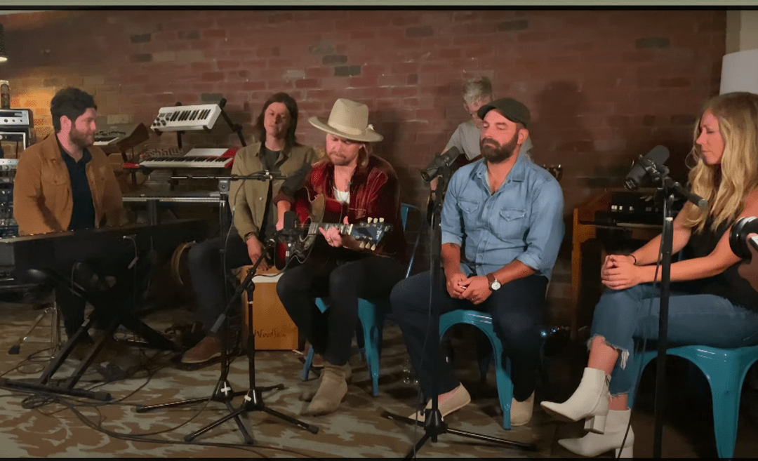 NEEDTOBREATHE release live 'Survival' (feat. Drew & Eillie Holcomb) video.