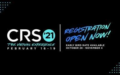 Registration for CRS 2021: The Virtual Experience NOW OPEN!