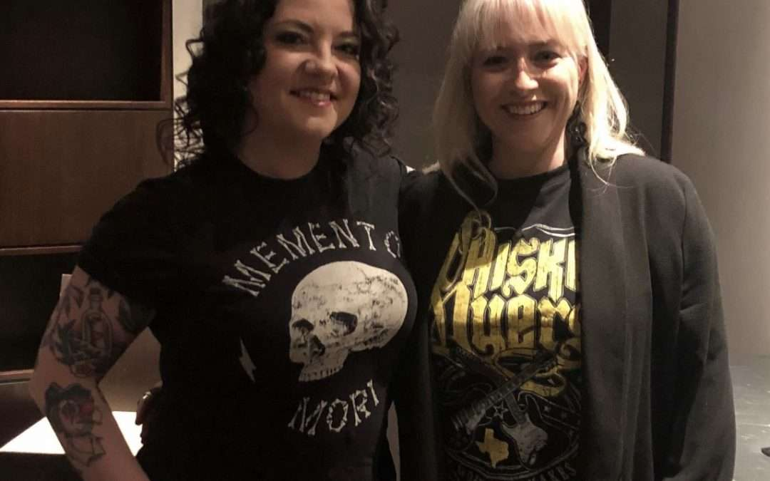 Ashley McBryde chats to Country Lowdown at London's Country to Country Festival