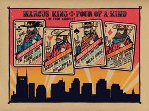 MARCUS KING announces 'Four of a Kind – Live from Nashville'