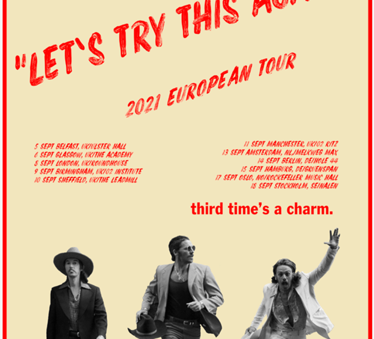 MIDLAND ANNOUNCES RESCHEDULED TOUR DATES WITH LET'S TRY THIS AGAIN! 2021 EUROPEAN TOUR!