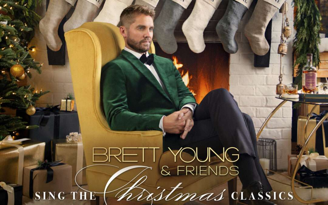 BRETT YOUNG DELIVERS NEW ALBUM CAPTURING  THE HOLIDAY SPIRIT ON OCTOBER 22